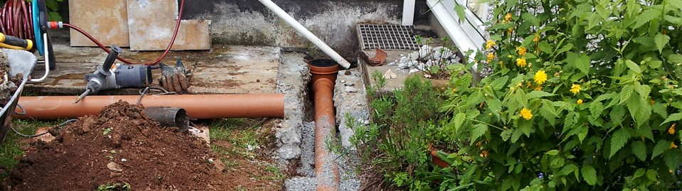 Drain Repairs from only £50 – NO VAT!